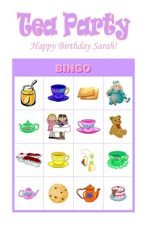 Amazing image pertaining to free printable tea party games