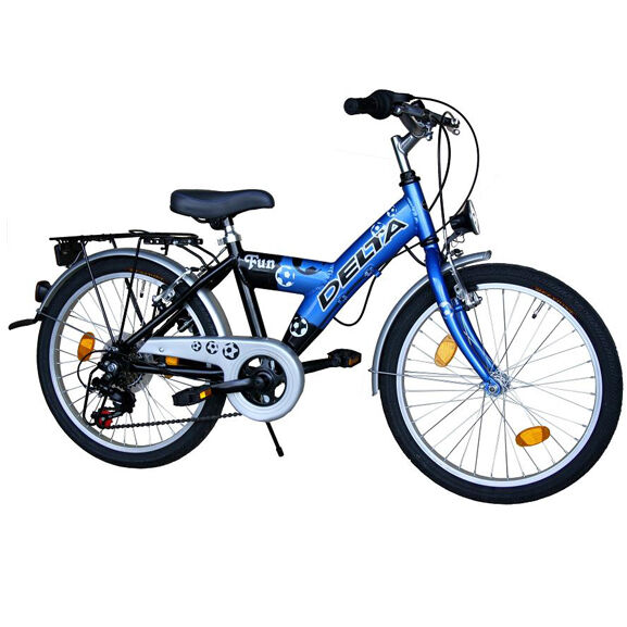 jungenfahrrad 20 6 gang shimano fahrrad 20 zoll blau ebay. Black Bedroom Furniture Sets. Home Design Ideas