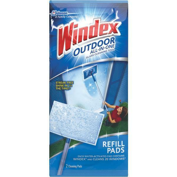 outdoor window all in one refill pads 9pk ebay. Black Bedroom Furniture Sets. Home Design Ideas