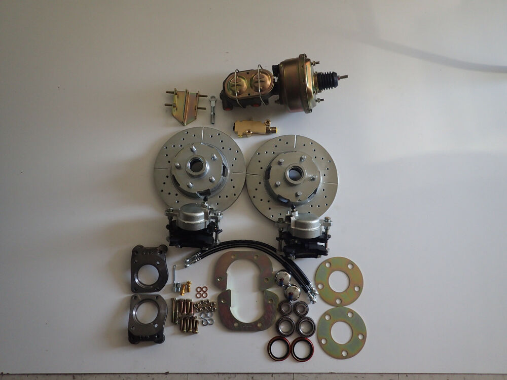 1966 Mustang Parts >> 1964 1965 1966 mustang power 4 wheel disc brake conversion does all 4 corners | eBay