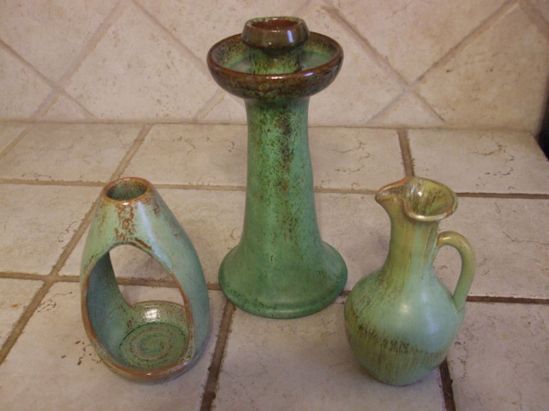 Signed arts and crafts southern pottery group ebay for Arts and crafts pottery