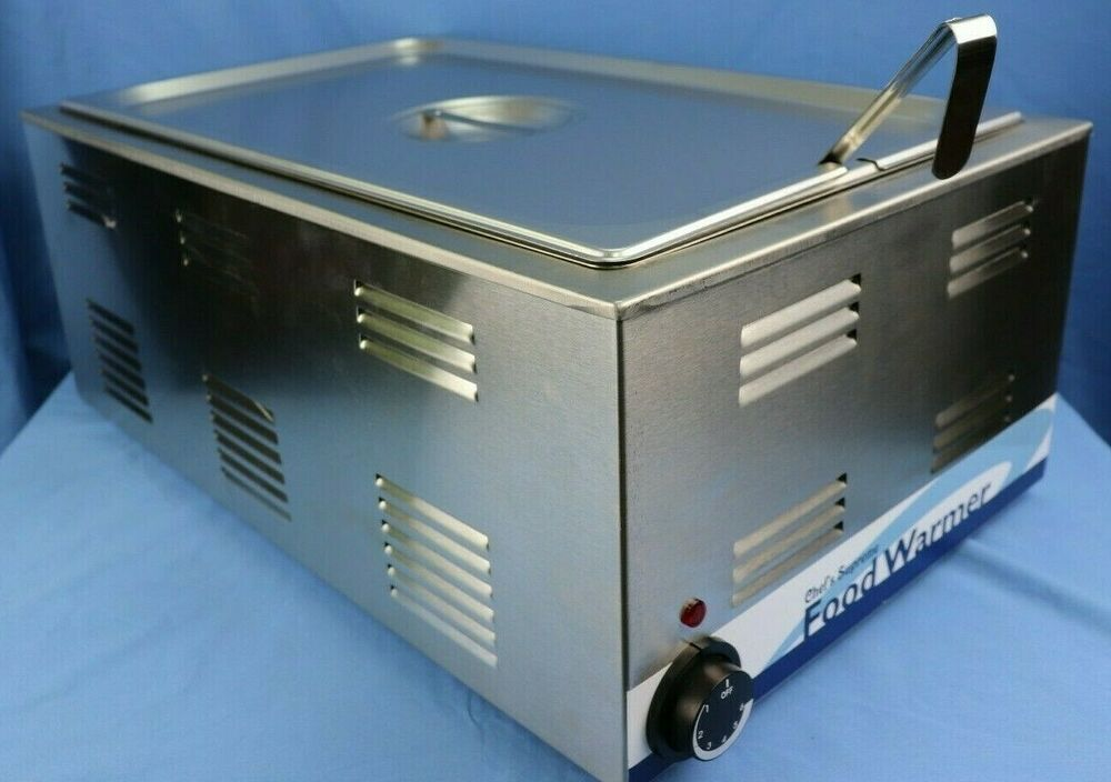 Over The Counter Bakery Warmers ~ Countertop steam table with ladel lid full size pan ebay