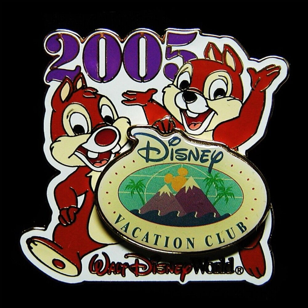 2005 chip amp dale vacation club exclusive disney pin ebay