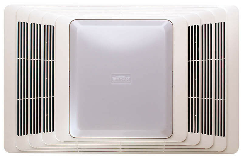 Broan nutone bathroom exhaust fan heater 70cfm 655 ebay for 9 bathroom fan cover