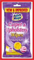 30 FABRIC MAGIC CARPET & UPHOLSTERY CLEANING WIPES M006