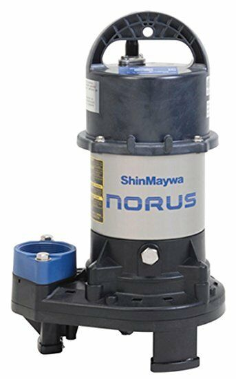 Shinmaywa 3300 gph submersible pond waterfall pump for Best water pump for pond