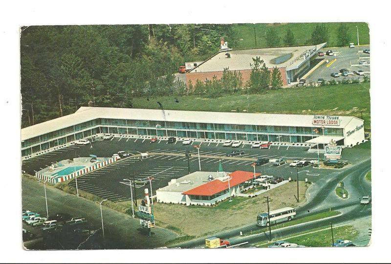 Northampton ma towne house motor lodge motel postcard ebay for Town house motor inn