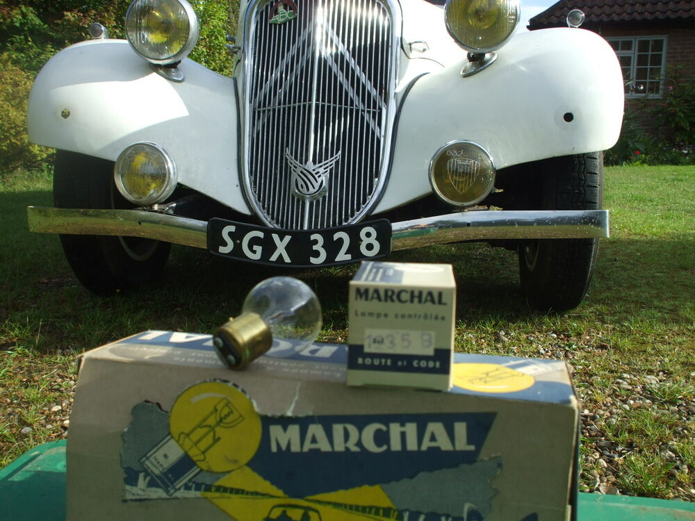 citroen traction avant new french headlamp bulbs ebay. Black Bedroom Furniture Sets. Home Design Ideas