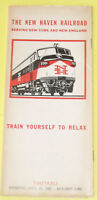 New Haven Railroad 1967 Time Table Nice! SEE!