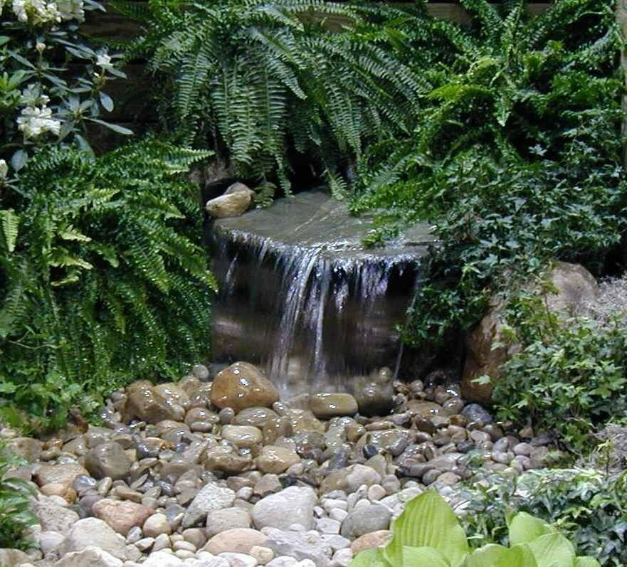 Backyard Waterfalls Kits :  Waterfall Kit with 2000 gph pumppondwatergardenbasin  eBay