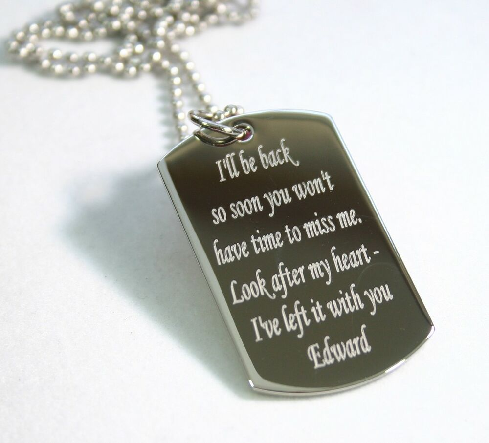 To My Daughter Dog Tag Uk