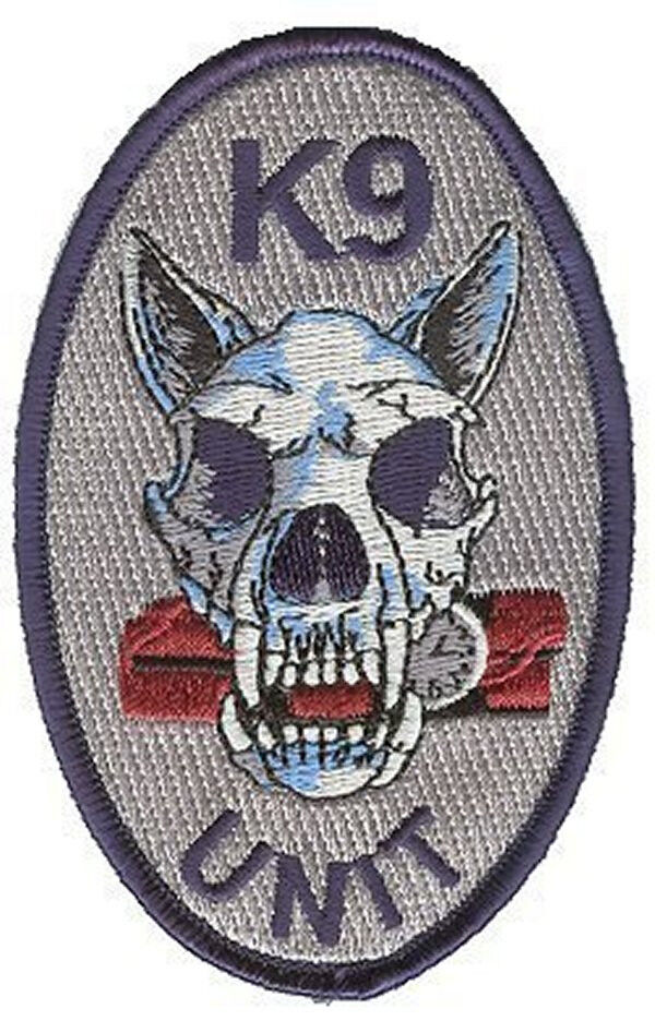 K9 police unit patches
