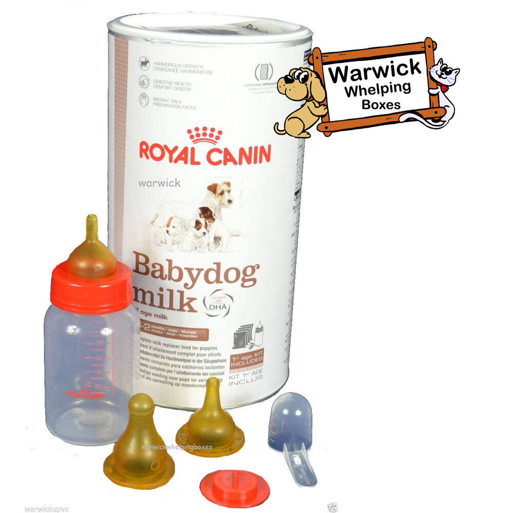 Royal Canin 400 Gram Baby Dog Puppy Milk Kit Whelping With