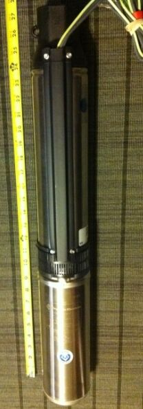 New 1 hp franklin electric 4 submersible well pump ebay for Waterproof submersible electric motors