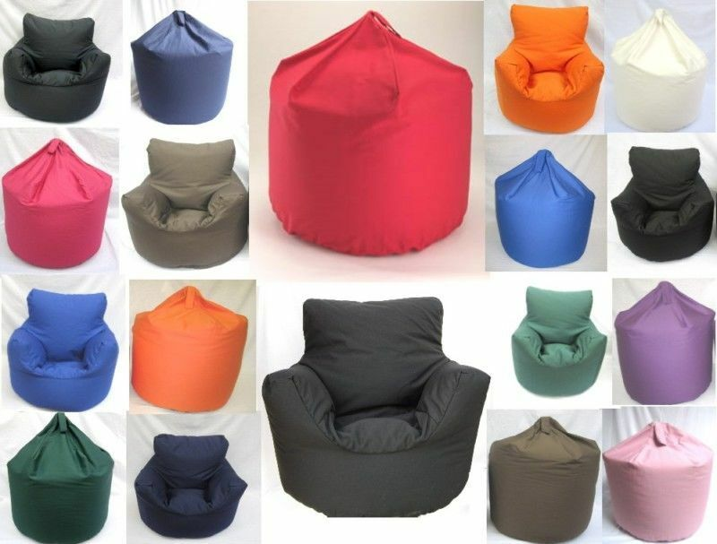 Extra Large Or Children Size Bean Bag Or Chair Shape With
