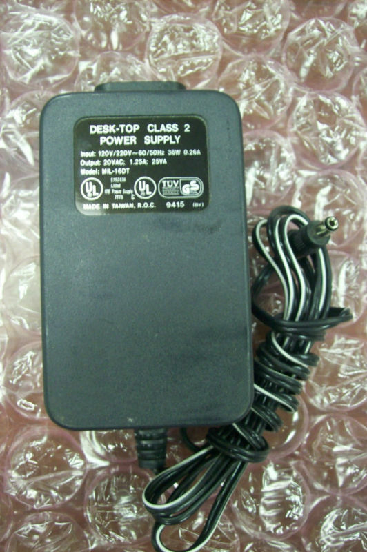 Desk Top Mil 16dt Power Supply Ebay