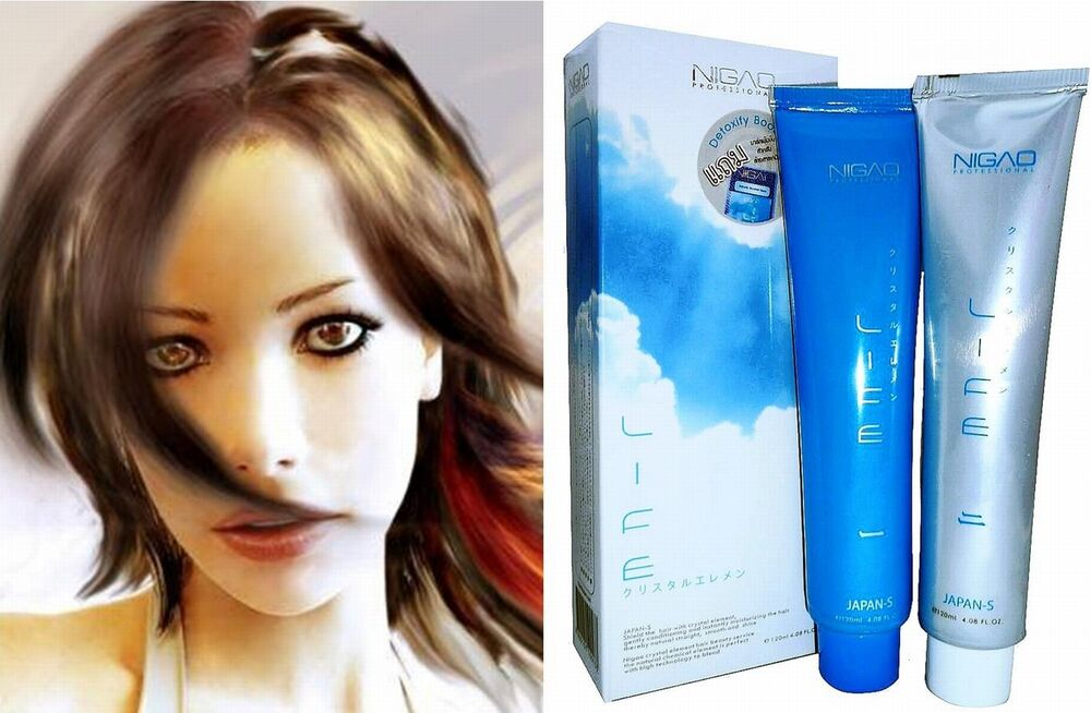 Japanese Ida Cyrstal System Hair Straightening Cream Ebay