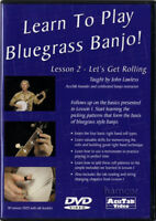 Learn To Play Bluegrass Banjo Lesson 2 Tuition DVD