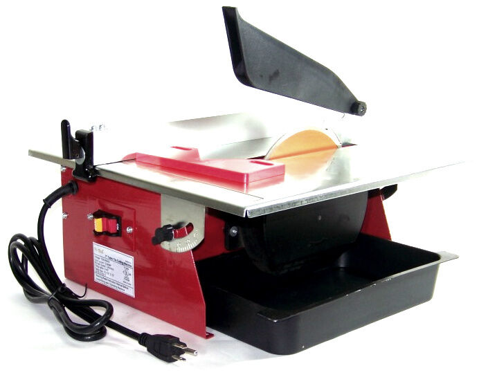 7 Electric Tile Cutter Wet Marble Cutter Circular Saw Top Table Ul Ebay