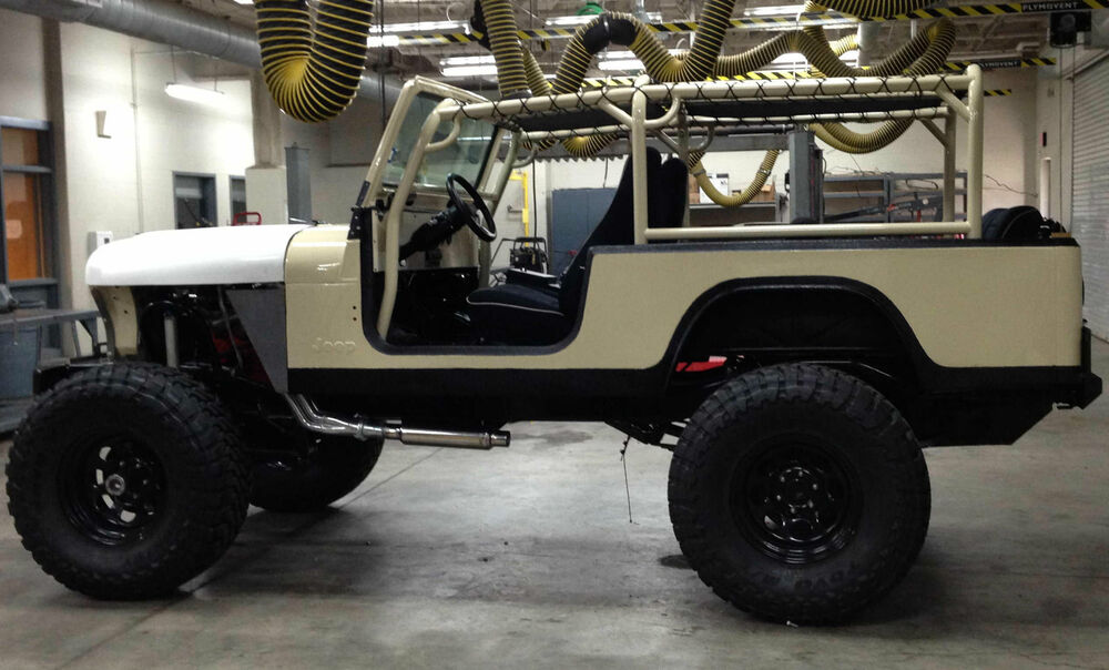 Family roll cage kit jeep cj8 roll bar kit scrambler ebay for Cj custom homes