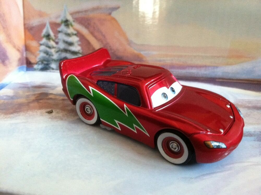 Toys R Us Toy Cars : Disney cars holiday hotshot lightning mcqueen christmas