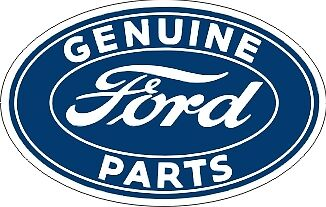 Genuine Ford Parts >> Vintage Ford Sales Genuine Parts Service Decal The Best Ebay