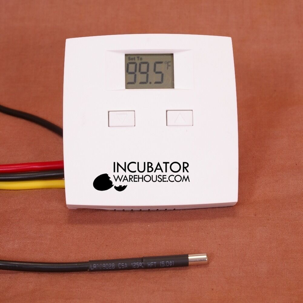 "in tor thermostat incustat basicâ""¢ preset digital electronic egg in tor thermostat probe"