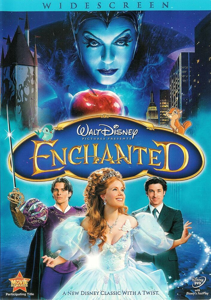 enchanted dvd movie review