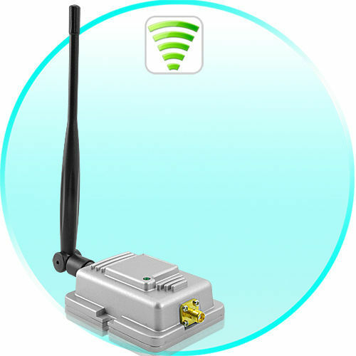 long range wi fi signal booster and wireless signal amplifier 2 4ghz ebay. Black Bedroom Furniture Sets. Home Design Ideas