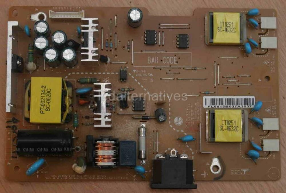 repair kit lg flatron l1919s s lcd monitor capacitors only not entire board ebay. Black Bedroom Furniture Sets. Home Design Ideas