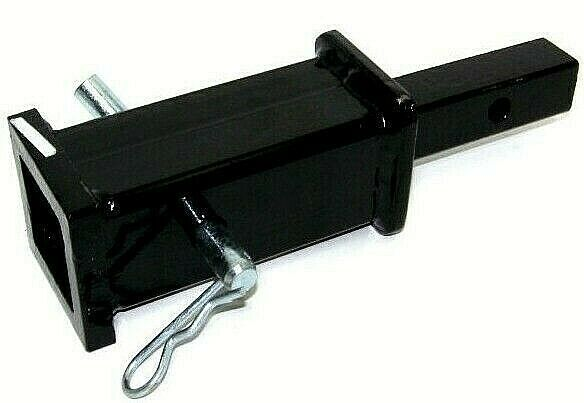 Trailer Hitch Safety Pin : Quot to tow hitch reducer adaptor towing trucks