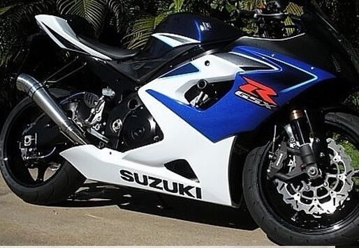 gp style exhaust suzuki gsx r gsxr 1000 2005 2006 05 06 ex7 ebay. Black Bedroom Furniture Sets. Home Design Ideas
