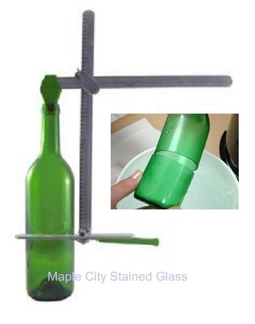 stained glass g2 bottle cutter generation green recycles