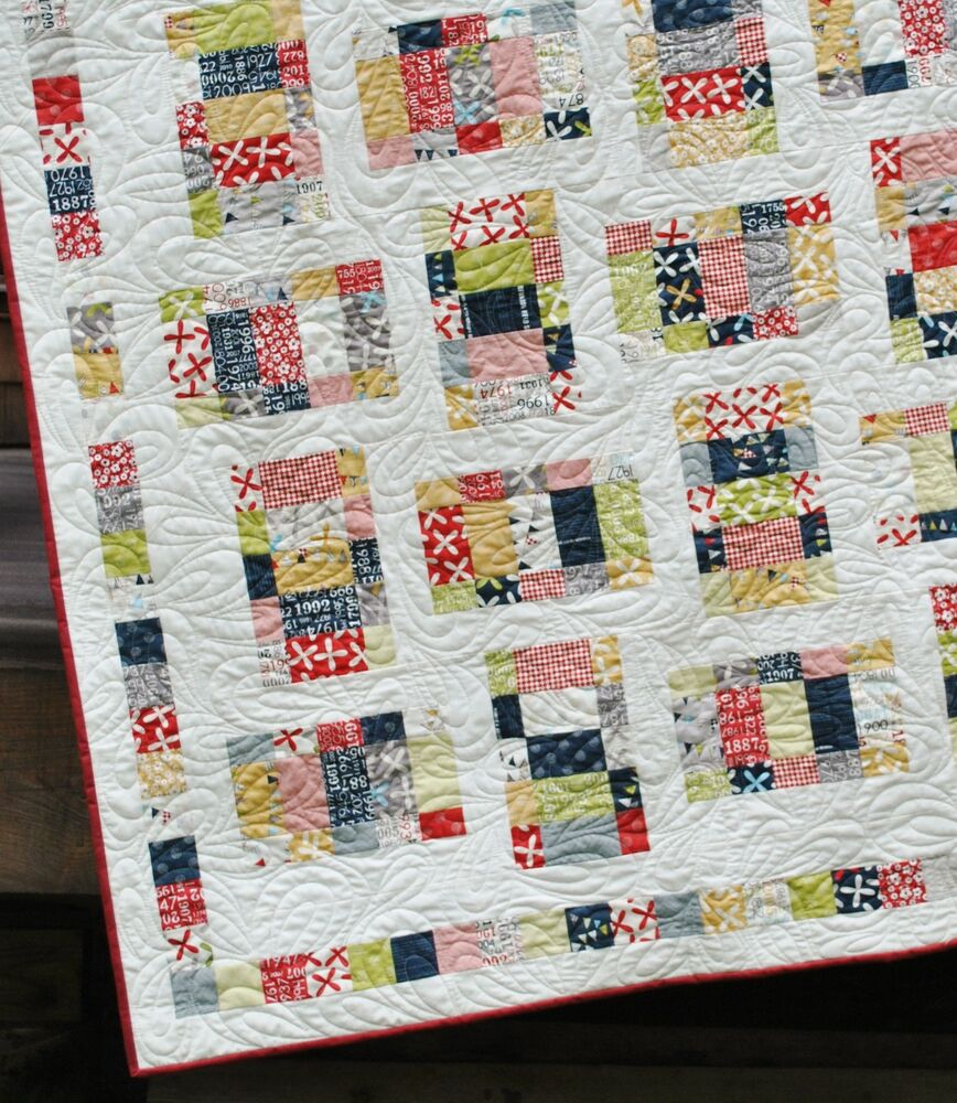 Layer Cake Quilt Patterns Easy : QUILT PATTERN Layer Cake, Jelly Roll or Fat Quarters Quick ...