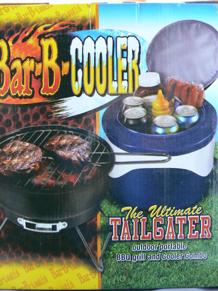 The Ultimate Cooler : Bar b cooler the ultimate tailgater outdoor portable bbq
