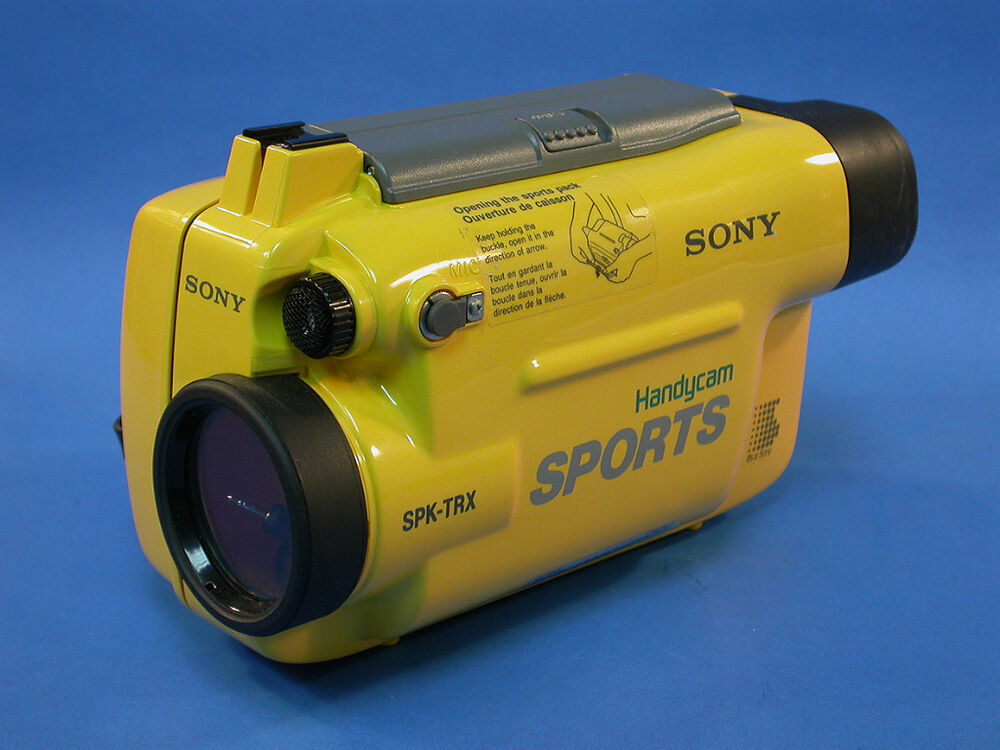 sony waterproof video camera sony spk trx handycam sports underwater 276