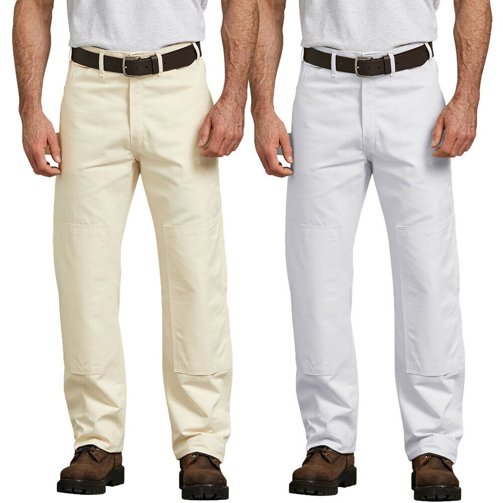 Dickies Relaxed Fit 34-32 White Painters Pant-1953WH3432 - The ...