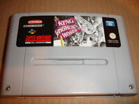 SUPER NINTENDO SNES - KING ARTHUR'S WORLD