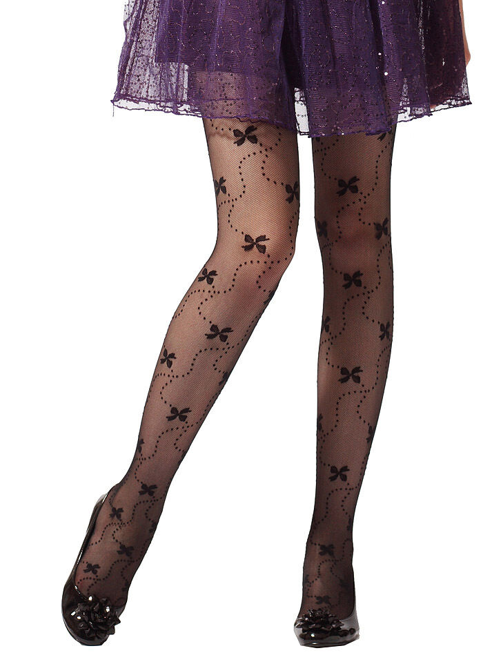 Butterfly with Trail of Dots Cute Tights/Stockings | eBay