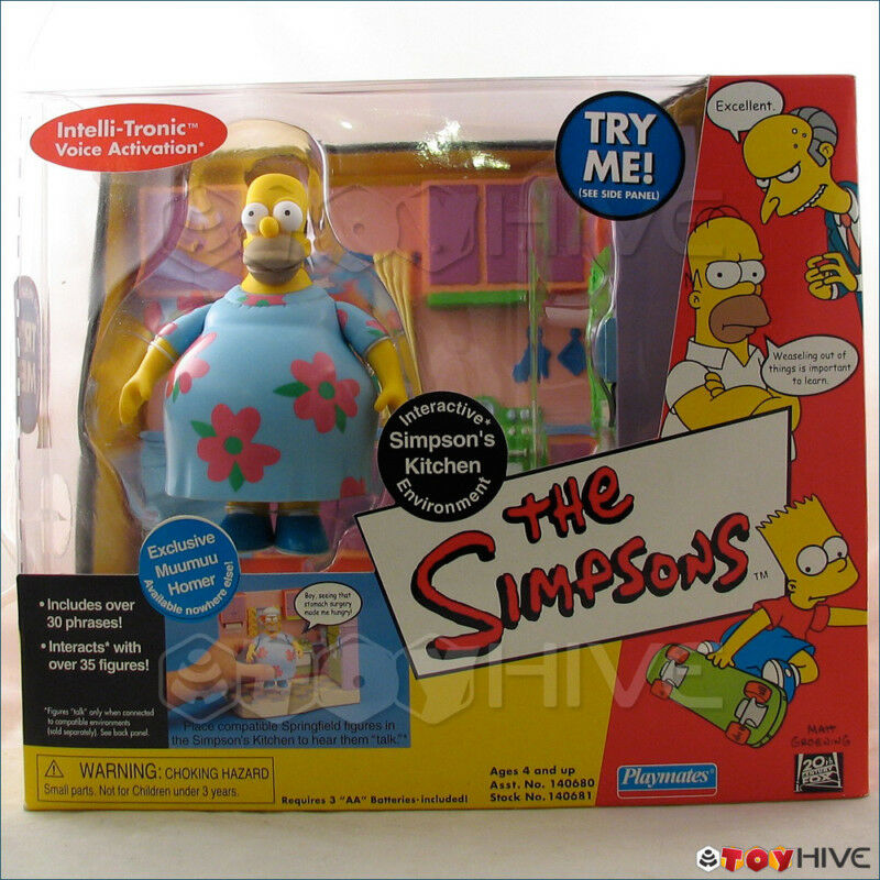 The simpsons kitchen interactive environment with muumuu for Kitchen set environment