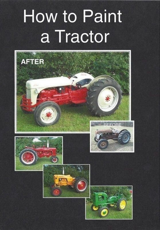 Farmall Tractor Painting : How to paint a tractor john deere ford farmall allis