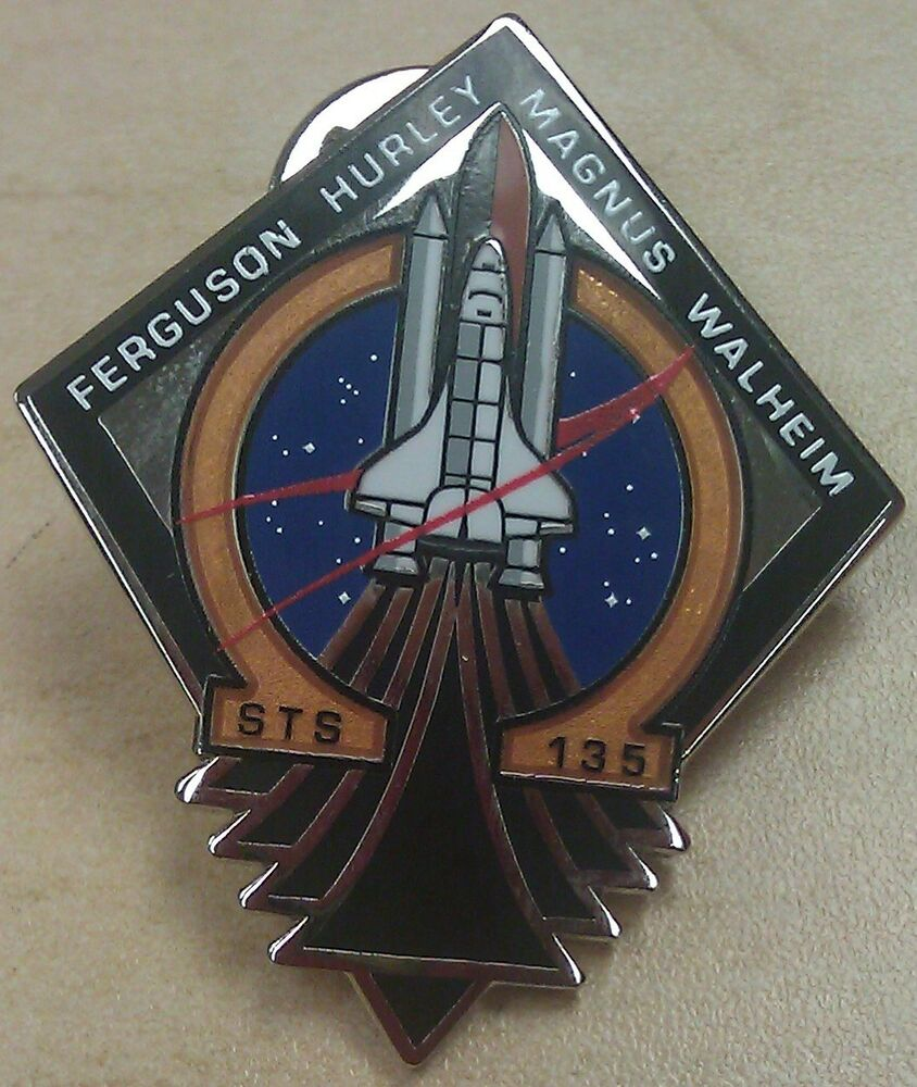 space shuttle mission pin set - photo #2