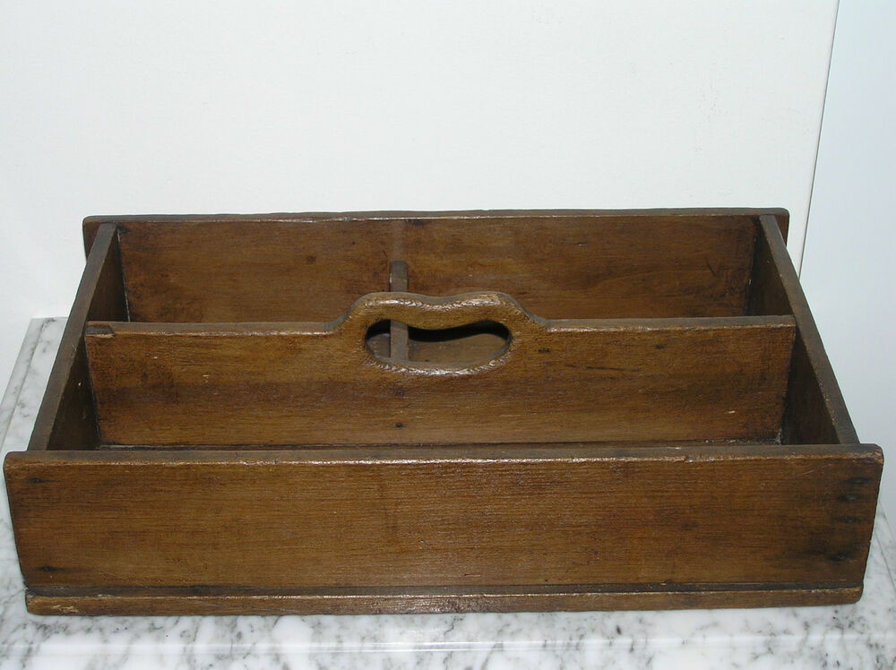 antique wood tray antique wooden cutlery tray ebay 1302