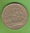 NEW ZEALAND 50 CENT COIN - 1975