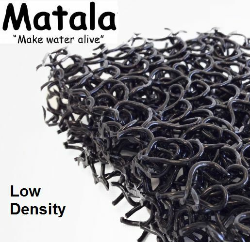 Black matala 1 2 sheet pond filter mat 24 x39 low for Pond filter mat