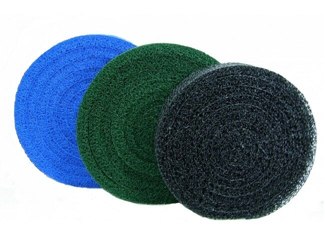 Matala 3 color 22 diameter rolls pond filter mats media for Pond filter mat