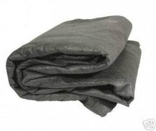 15x25 nonwoven geotextile fabric pond pad mat underlayment for Rubber pond liner