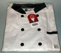 Chef Works Chef's Coat BBTR - White - Size 2XL - NWT