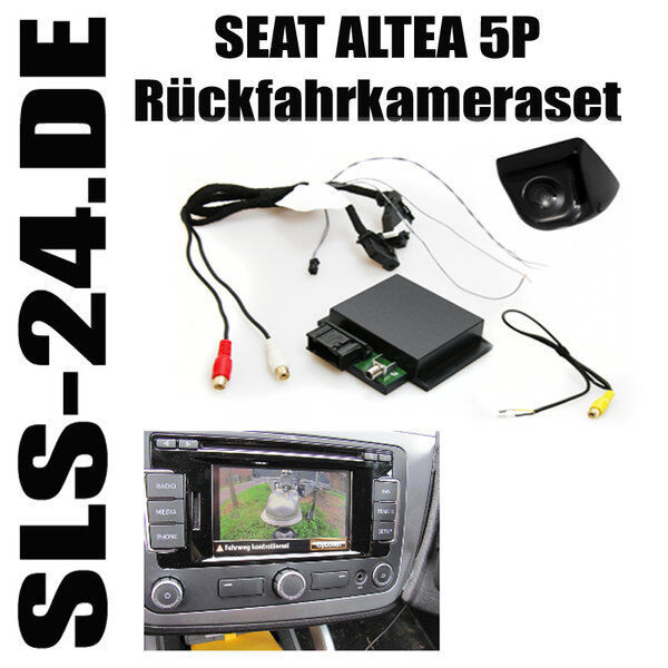 ampire kc801 r ckfahrkamera interface seat altea 5p media system kufatec 38480 ebay. Black Bedroom Furniture Sets. Home Design Ideas