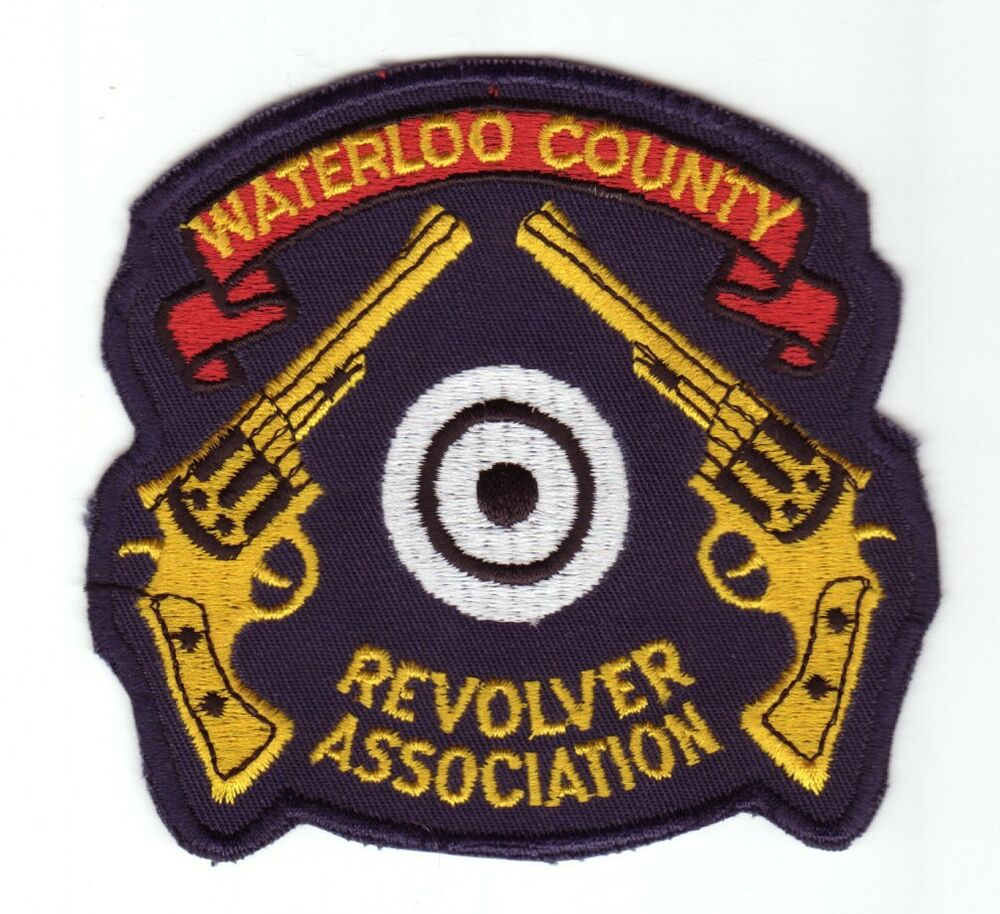Canada waterloo county revolver association jacket